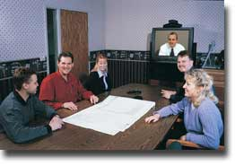 Videoconference at Smith Engineering Consultants