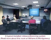Video conferencing system installed by United Visual